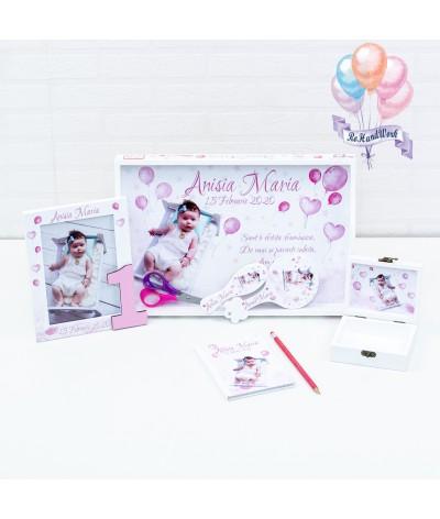 Setul de mot cu Baloane roz - 2