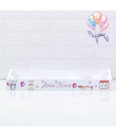 Setul de mot cu Baloane roz - 4
