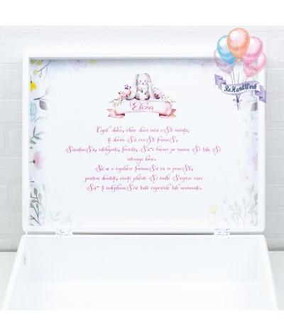 Cutie de amintiri si cutiuta pentru mot iepuras - 6