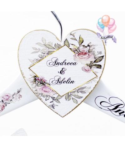 Umerase de nunta pentru miri cu flori - 3