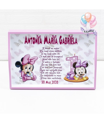 Set de mot personalizat Minnie Mouse - 2