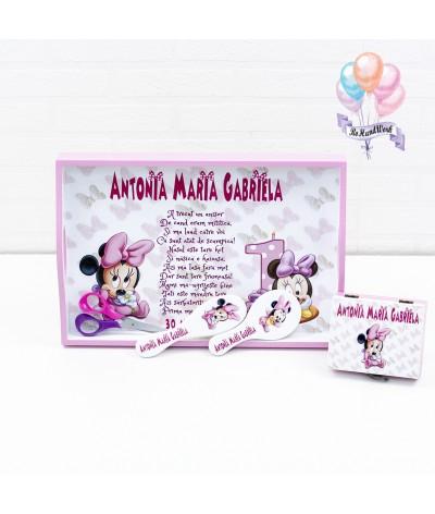 Set de mot personalizat Minnie Mouse - 1
