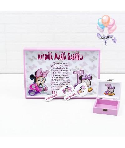 Set de mot personalizat Minnie Mouse - 3