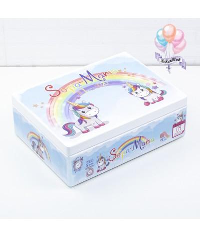 Set trusou Unicorn curcubeu - 10