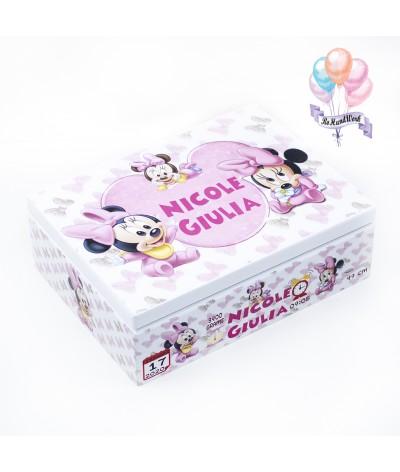 Set trusou botez Minnie mouse - 10