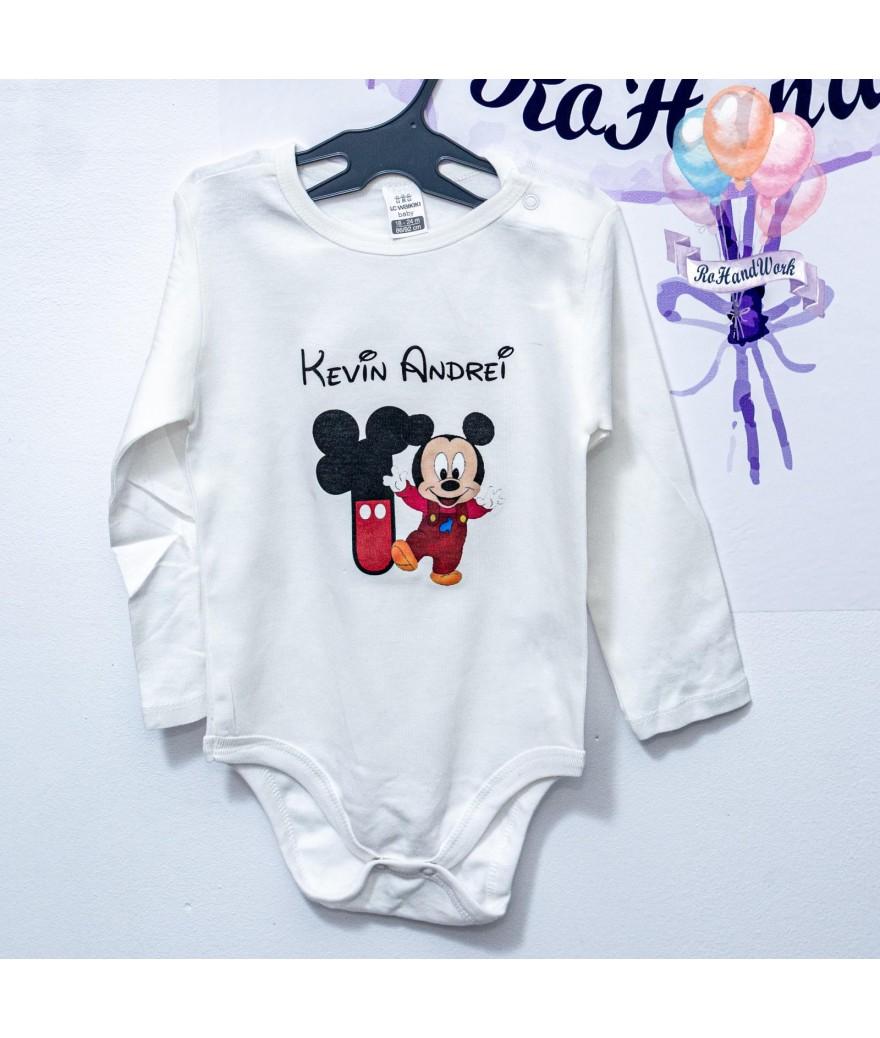 Body personalizat cu baby mickey mouse - 1