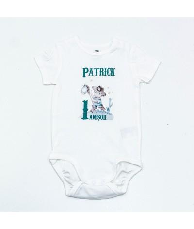 Body personalizat cu baby Cowboy - 1