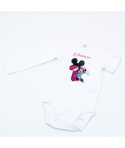 Body personalizat cu Minnie - 1