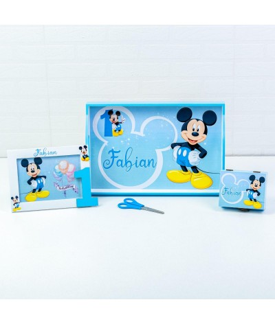 Set mot Mickey Mouse bleo 01 - 1