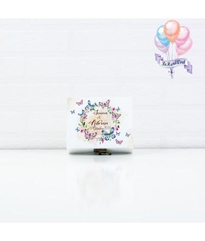 Cutie Stick USB cu fluturasi roz - 1