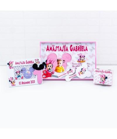 Set de mot roz baby Minnie poza - 1