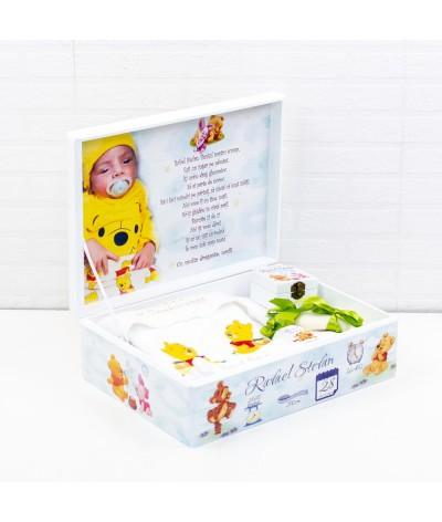 Winnie the Pooh set trusou botez - 2