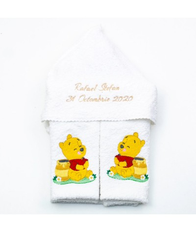 Winnie the Pooh set trusou botez - 4