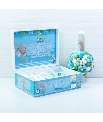 Cute Bunny set trusou botez - 3