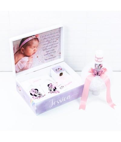 Trusou botez Minnie Mouse si poza bebe - 3