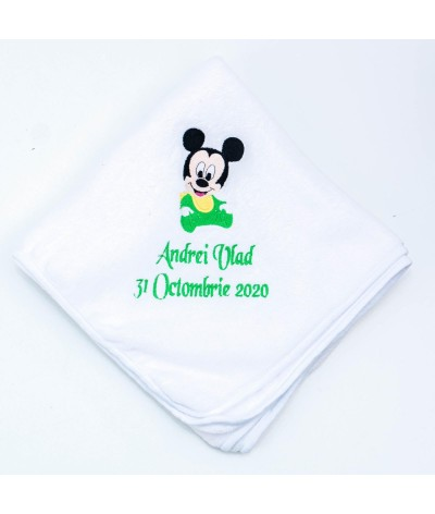 Set trusou Baby Mickey Mouse verde - 2