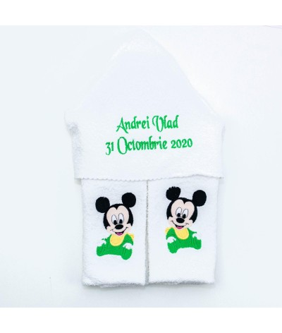 Set trusou Baby Mickey Mouse verde - 3