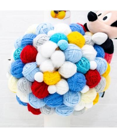 Lumanare cu gheme si mascota Mickey Mouse - 3