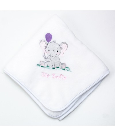 Set trusou botez Elefantel cu balon fetita - 5