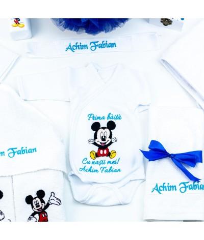 Set trusou botez Mickey Mouse bleo - 3