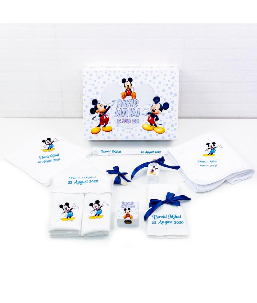 Set trusou botez Mickey mouse bleo - 1