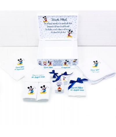 Set trusou botez Mickey mouse bleo - 2