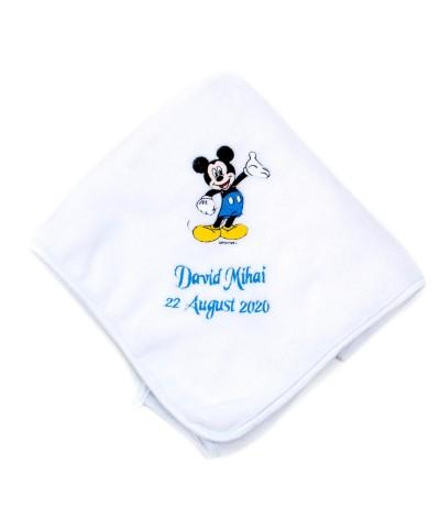Set trusou botez Mickey mouse bleo - 4
