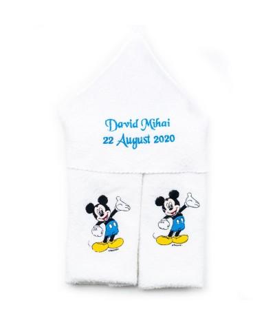 Set trusou botez Mickey mouse bleo - 5