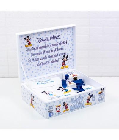 Set trusou botez Mickey mouse bleo - 6