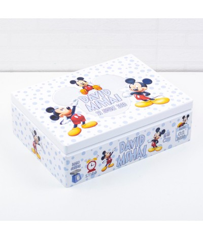 Set trusou botez Mickey mouse bleo - 7