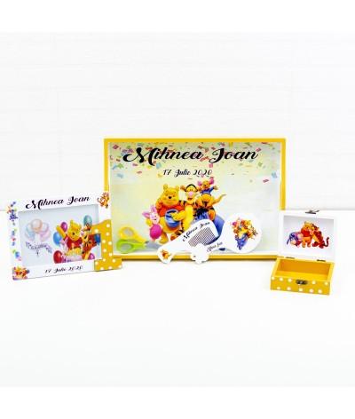 Set mot Winnie galben - 2