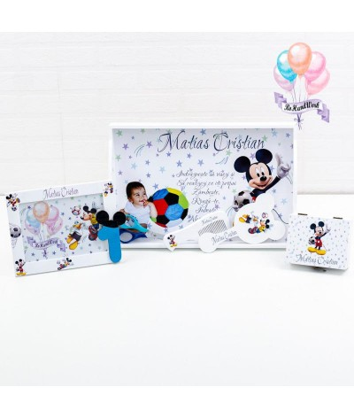 Set mot Mickey Mouse Fotbalist - 1