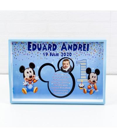 Set mot Baby Mickey Mouse Albastru - 3