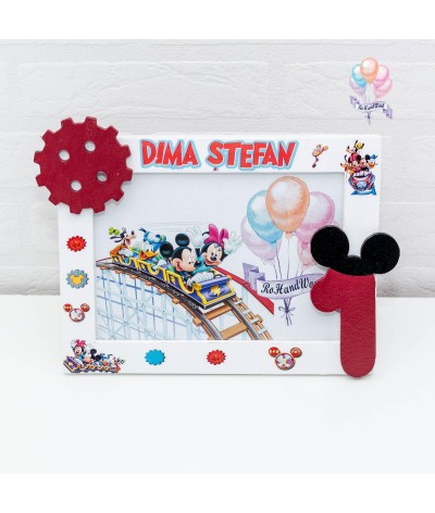 Set mot Mickey Mouse parc distractii - 3