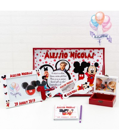 Set mot Mickey Mouse cu buline - 1