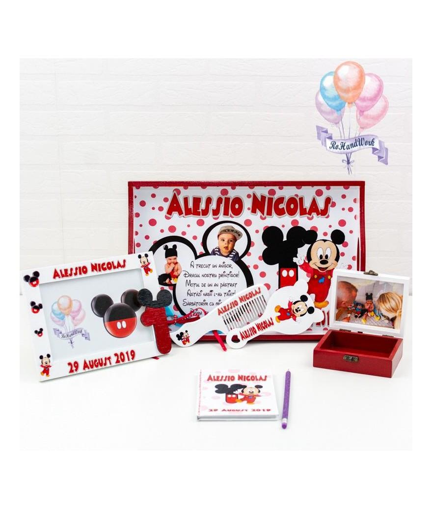 Set mot Mickey Mouse cu buline - 1