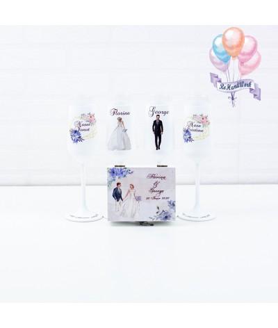 Set pahare nunta - 4