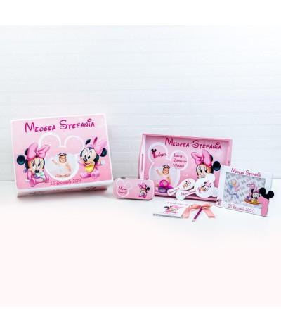 Set mot Baby Minnie delicat cu poza - 1