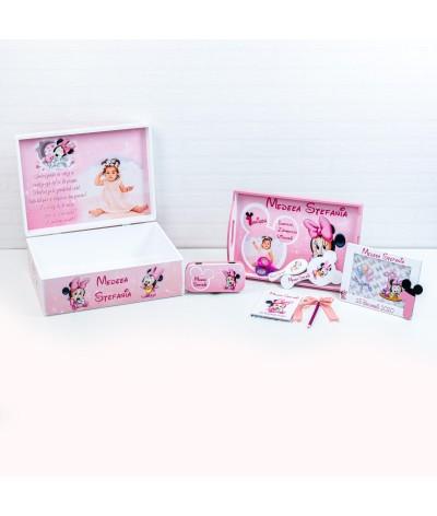 Set mot Baby Minnie delicat cu poza - 4