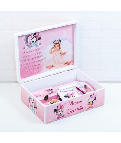 Set mot Baby Minnie delicat cu poza - 6