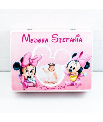Set mot Baby Minnie delicat cu poza - 7