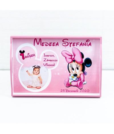 Set mot Baby Minnie delicat cu poza - 8
