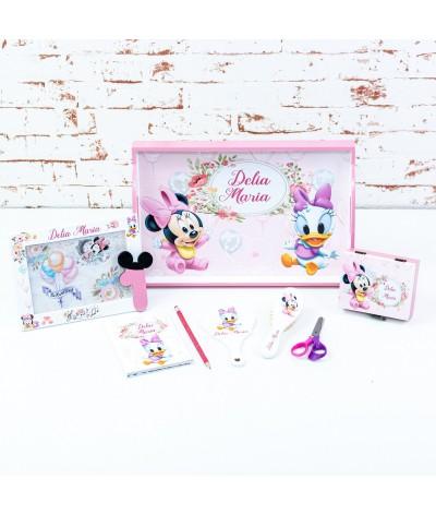 Set mot Minnie si Daisy baloane pastelate - 1