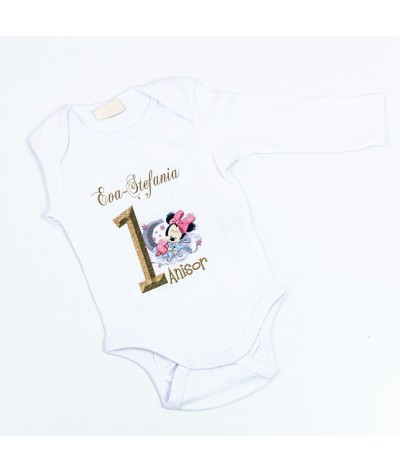 Body personalizat cu Baby Minnie - 1