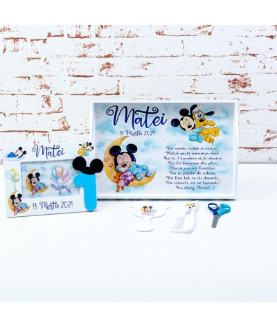Set mot Mickey mouse pe luna - 2