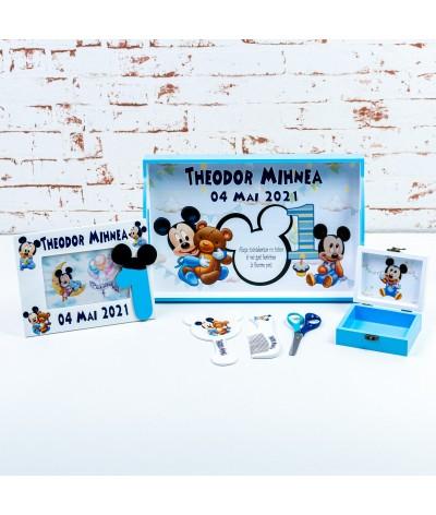 Set mot baby Mickey mouse stegulete - 3
