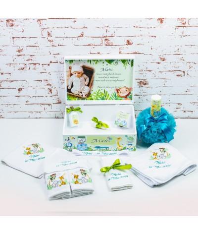 Set trusou botez animalute jungla verde1 - 3