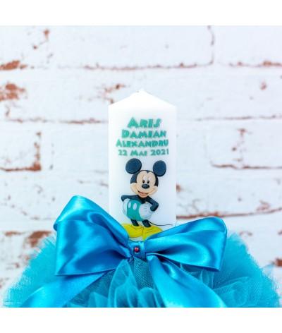 Set trusou botez Mickey Mouse turcoaz - 2