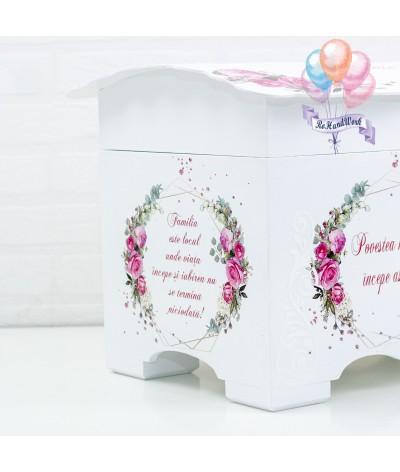 Cufar nunta trandafiri rosii (150-200 plicuri) - 6