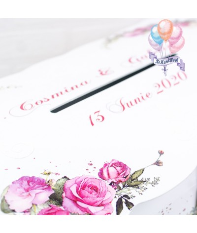 Cufar nunta trandafiri rosii (150-200 plicuri) - 7